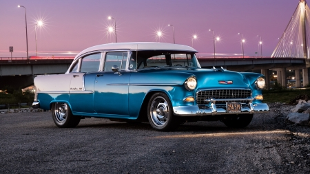 55 chevy - windows, desktop, wallpaper, 55 chevy