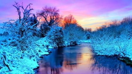 Frozen Landscape Winter Nature Background Wallpapers On Desktop Nexus Image 2351682