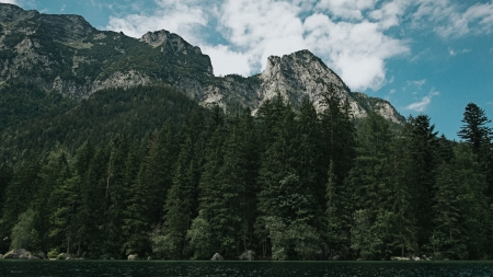 Lake Mountain - lakes, mountains, landscapes, forests, nature