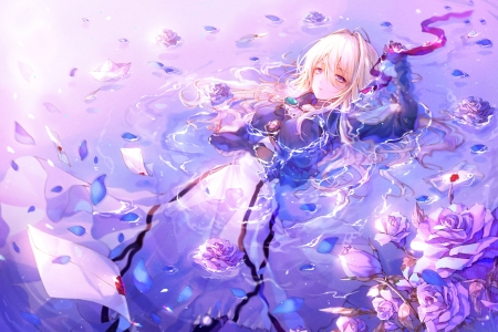 Violet Evergarden - Other & Anime Background Wallpapers on ...