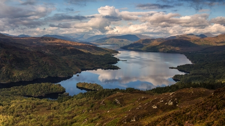 Scottish Landscape Lakes Nature Background Wallpapers On