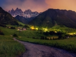 Funes Valley in the Dolomite's,Italy