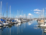 Long Beach Marina, California, USA