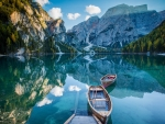 Lake in Dolomites, Italy