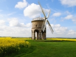 Windmill in Chesterton, Yorkshire, UK