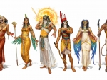 gods and goddesses of egypt