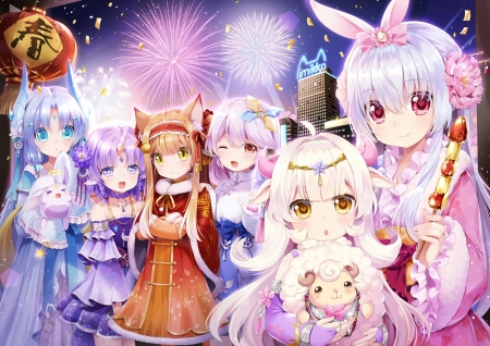 chinese new year other anime background wallpapers on desktop nexus image 2353027