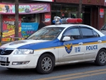 south korean police car