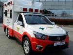 ssangyong korando sports ambulance