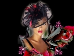 La Femme Headdress7 Fascinator Hat 1