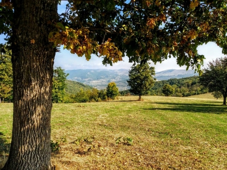 lovly view from countryside brus - Brus, Contryside, Kosovo, Slivovo
