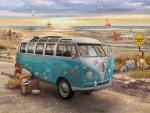 Love & Hope VW Bus