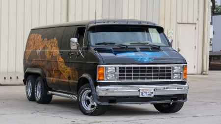 1980 Dodge Custom Van - windows, desktop, 1980 Dodge Custom Van, wallpaper