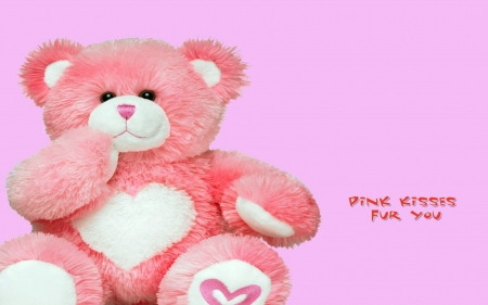 Pink Teddy Bear Photography Abstract Background Wallpapers On
