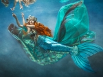 Mermaid Underwater Photography