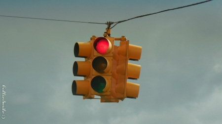 Red Light! Time to Stop! :D - red light, stop, traffic signal, stop 1ight, Traffic Signals nSigns, traffic light