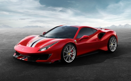 2018 Ferrari 488 Pista   Red, 2018, Ferrari, Cars