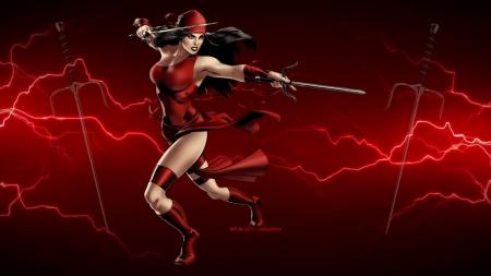 Elektra Lightning Other Anime Background Wallpapers On Desktop Nexus Image 2356817