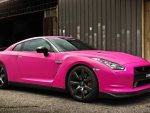 Awesome Pink Car