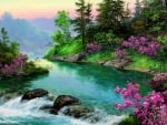 River in Springtime