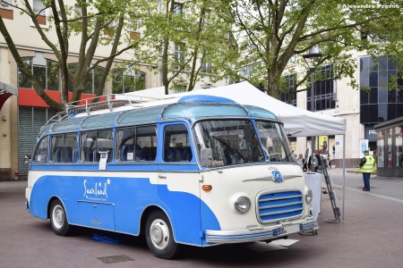 Bus - Blue, Travel, Transport, Bus, Old, White