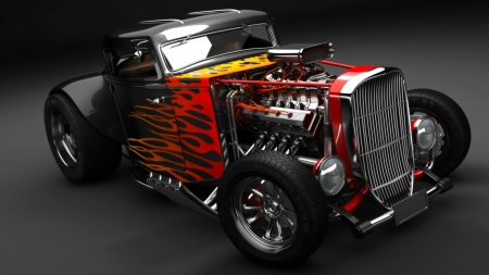 Hot rod - Ford & Cars Background Wallpapers on Desktop Nexus (Image