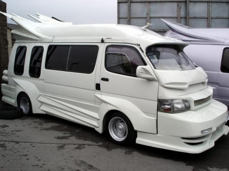 Toyota hiace custom