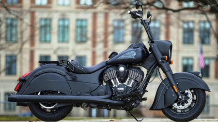 black indian - building, black, indian, motorcycle