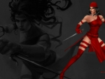 Elektra In The Shadows