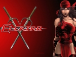 Elektra & Sai Swords wallpaper