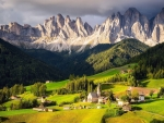 Villnoss, South Tyrol in northern Italy