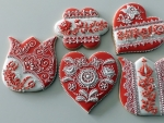 Hungarian Gingerbread Cookies