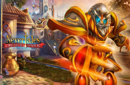 Nevertales 7- Creator's Spark04 - cool, hidden object, video games, fun, puzzle