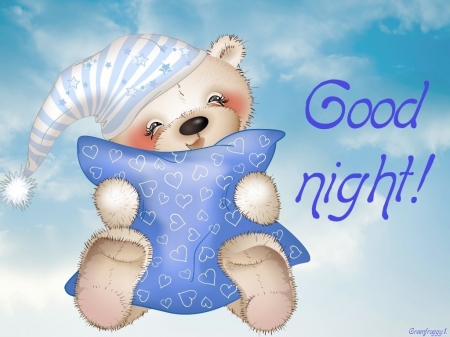 GOOD NIGHT - COMMENT, CARD, NIGHT, GOOD