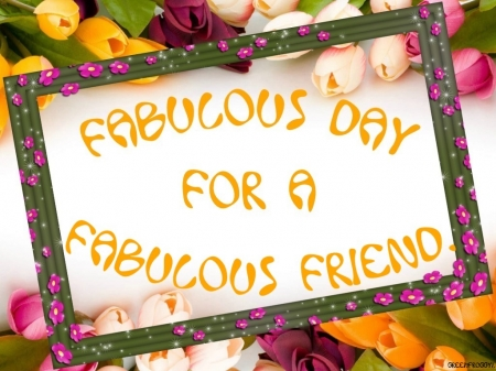 FABULOUS DAY - COMMENT, DAY, CARD, FABULOUS