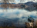 Lake of Kastoria in Greece