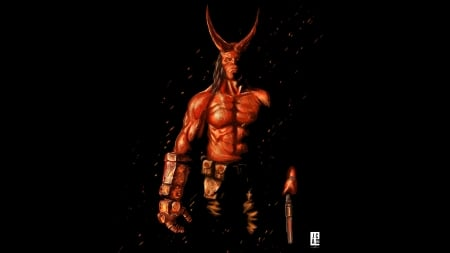 hellboy 2019 - devil, demon, helloboy, superhero