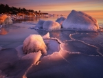 Frozen Coast of Sweden