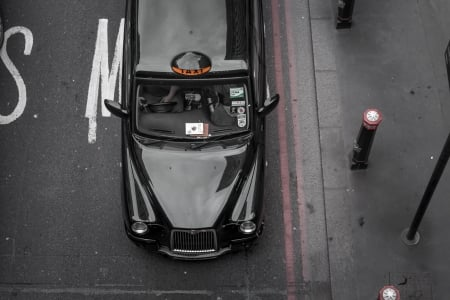 London taxi - Black, London, Car, Taxi