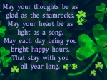 Irish Saying for Saint Patrick's Day