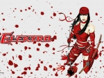 Elektra vs Daredevil  wallpaper