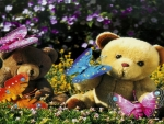 Teddy Bears And Butterflies