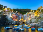 Houses on the sea, Cinque Terre,Italy