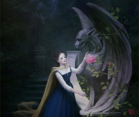 Belle Fantasy Abstract Background Wallpapers On Desktop Nexus