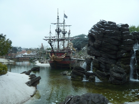 black pearl 2 - boats, parks, france, sparrow, disney