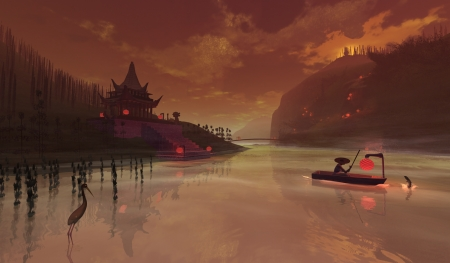 Ancient China Fantasy Abstract Background Wallpapers On Desktop