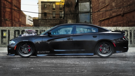 dodge charger hellcat - windows, desktop, dodge charger hellcat, wallpaper