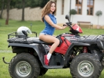Nikki Waine on her Quad