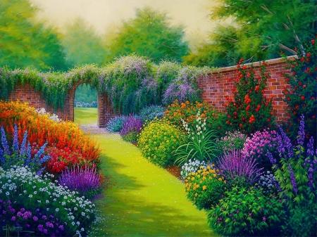 Secret Garden Other Amp Abstract Background Wallpapers On Desktop Nexus Image 2362502