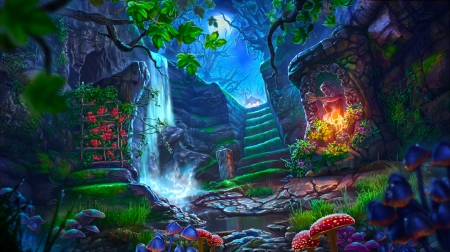 The Best Fantasy Cave Art Wallpapers